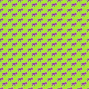 Zebra party stripes - small