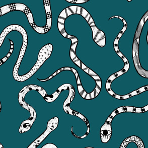 Dusty Blue Snakes