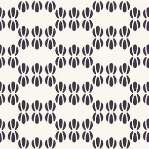 Seamless vector pattern. Abstract ethnic tribal waves scandi style.