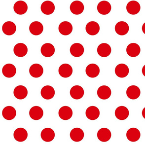 Red Spots on White