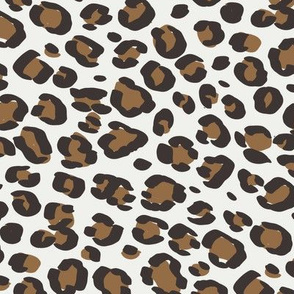 leopard print fabric sfx1044 chipmunk - animal print, cheetah print, leopard print - baby girl, nursery