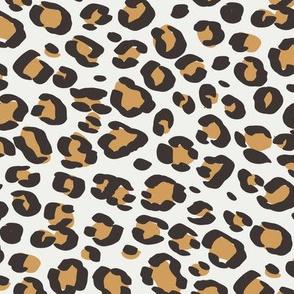 leopard print fabric sfx1144 oak leaf - animal print, cheetah print, leopard print - baby girl, nursery