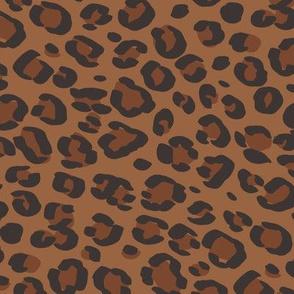 leopard print fabric sfx1340 sierra - animal print, cheetah print, leopard print - baby girl, nursery