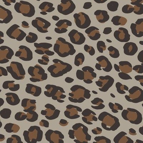 leopard print fabric sfx0906, sfx1033 taupe, toffee - animal print, cheetah print, leopard print - baby girl, nursery