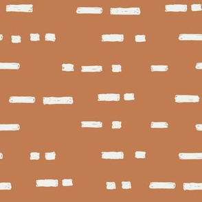 lines caramel fabric - sfx1346 - stripes, nursery stripe, gender neutral stripe, earthy stripe, boho, dash