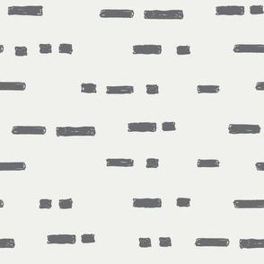 lines steel fabric - sfx4005 - stripes, nursery stripe, gender neutral stripe, earthy stripe, boho, dash