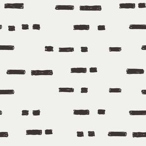 lines coffee fabric - sfx1111 - stripes, nursery stripe, gender neutral stripe, earthy stripe, boho, dash