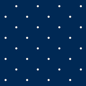 Aligned small beige dots over dark blue