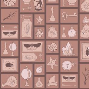 Cabinet of Curiosities - Brown