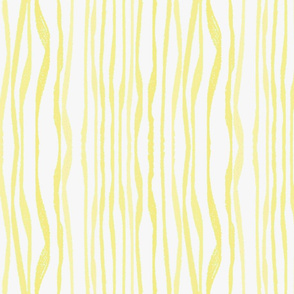 YELLOW WAVY STRIPES