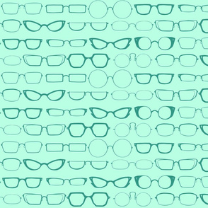 Glasses - Teal