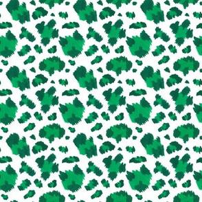 Green leopard