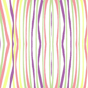 MULTI COLOR WAVY LINES