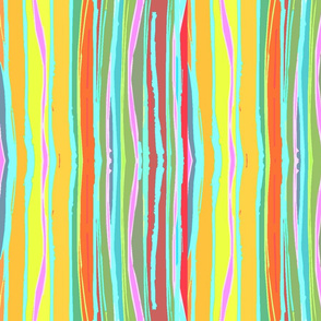 FLAMBOYANT WAVY STRIPES-1