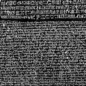 Rosetta Stone // Black