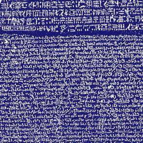 Rosetta Stone // Midnight Blue