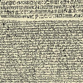 Rosetta Stone // Parchment