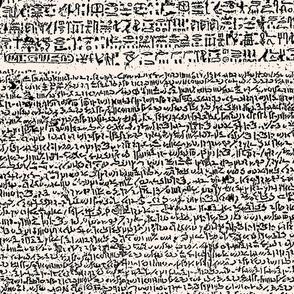 Rosetta Stone // Antique White