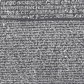 Rosetta Stone // Charcoal