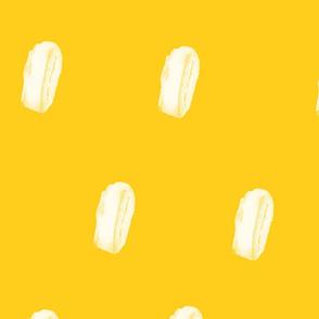 Yellow Fellow Painterly Spots