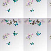 Butterfly and Flowers 4-ed