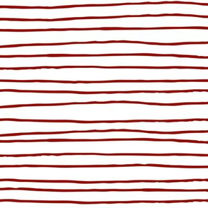 STRIPE BARN RED