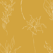 COUNTRY OCHER FLORAL