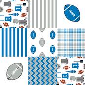 "lions quilt  6"" squares - patchwork quilt, cheater quilt, wholecloth, broadcloth, detroit fabric"