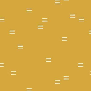 Minimal mudcloth stripes bohemian mayan abstract indian summer love aztec design ochre yellow