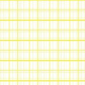 Petite Yellow Plaid