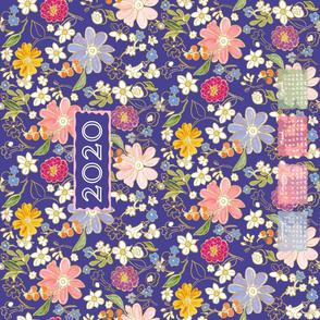 Spring into 2020 Tea Towel Calendar