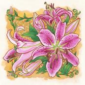 "5"" Stargazer Lily"