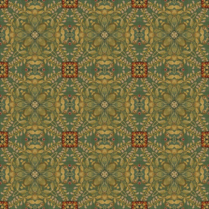 Hunter series green pattern
