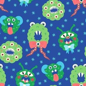 Wacky Monster Wreaths