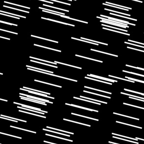 Random Static Lines... white on black