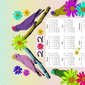 Galahs in the Garden (2020 calendar)