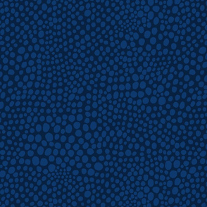 Spots galaxy blue on navy