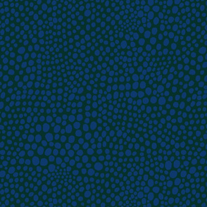 Spots galaxy blue on foret biome