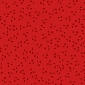 Holiday Dots Red