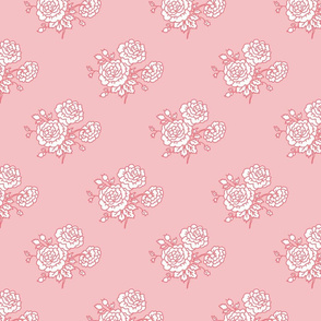 chinz - rose