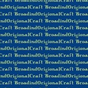 BroadindOrigionalCraft Fresh & Inky Blue