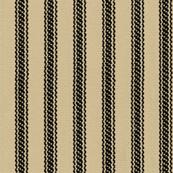 Ticking Stripes - Sandy Tan