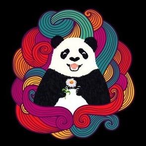 Adorable Panda Bear Pattern