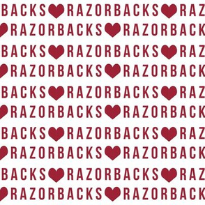 razorbacks - arizona razorbacks fabric, college football, college sports, sports fabric, cardinal red and white, college sports, sports