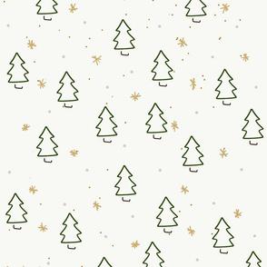 linear christmas