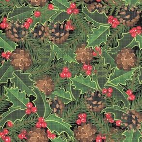 Holly & Pine Linen