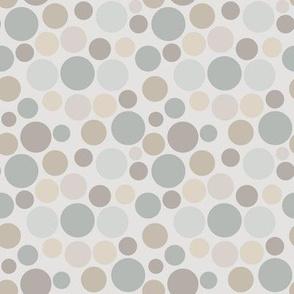 Shades of Gray Circles