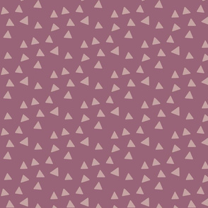 Triangles - Mauve