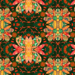 Fall Flowers - pattern 2