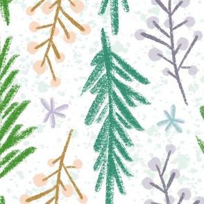 Winterberry & Pine - Multicolor